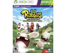 game xbox 360 rabbids invasion