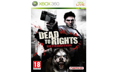 game xbox 360 dead to rights retribution