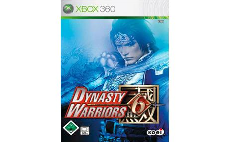 game xbox 360 dynasty warrior 6
