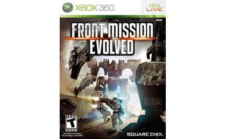 game xbox 360 front mission evolved