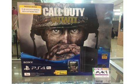 ps4 pro 1tb call of duty wwii