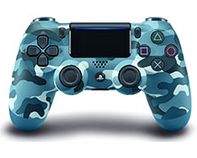 stik ps4 blue camouflage